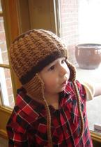 Earflaps Child Hat  Pattern