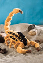 Shady Sadie the Striped Bark Scorpion Pattern