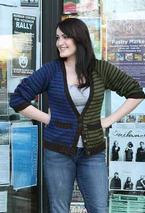 Two Boyfriends Cardigan  Pattern