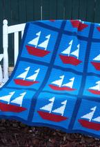 Sail Away Crochet Afghan Pattern