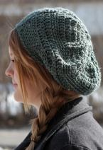 Star Beret Crochet Hat  Pattern