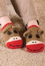 Sock Monkey Slippers Pattern