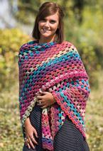Hippie Chick Crochet Shawl Pattern