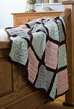 Pam's Comfort Cables Crochet Afghan Pattern