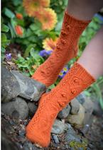 Dangerous Garden Socks  Pattern