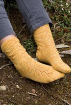 Oregon-Grape Socks Pattern