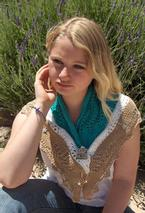 Beaches Shawlette  Pattern