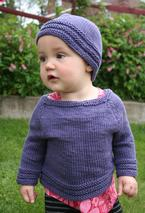 Merry-Go-Round Child Sweater & Hat Pattern