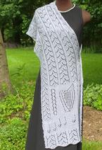 Octavia's Garlands Lace Shawl Pattern