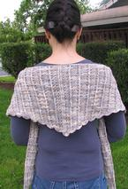 Kestrel Wings Crochet Shawl Pattern