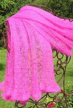 Elegant Embrace Shawl Pattern