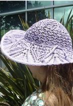 Doily Inspired Lace Hat  Pattern