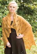 Tuscan Sunflower Shawl Pattern