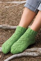 Walk in the Garden Socks  Pattern