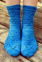 Birds In Flight Socks Pattern