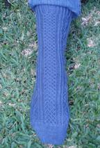 Crisscross Socks Pattern