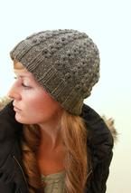 Jane Cabled Hat Pattern