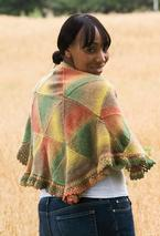 Kaleidoscope Shawl Pattern