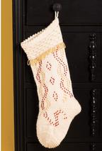 Beaded Beauty Christmas Stocking  Pattern