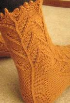 Cornstalk Socks Pattern