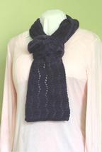 Learn to Knit Lace – Lace Scarf Pattern