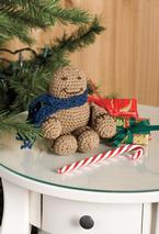 Chubby Amigurumi Crochet Gingerbread Man Pattern