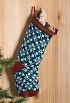 Scandanavian Christmas Stocking Pattern