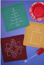 Winter Wonders Dishcloths Pattern