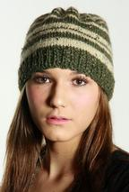 Bella Striped Hat Pattern
