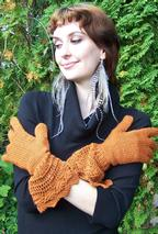 Pretty Pirate Princess Gloves Pattern