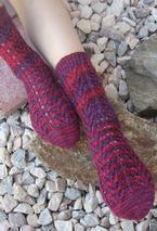 Branches and Blooms Socks Pattern