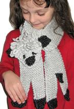 Little Lamb Scarf Pattern
