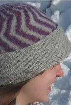 The Two Color Felted Hat Pattern