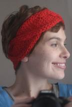 WORK + SHELTER Cabled Headband Pattern