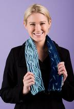 Reversible Braided Cable Scarf Pattern