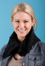 Buttoned Cabled Crochet Cowl Pattern