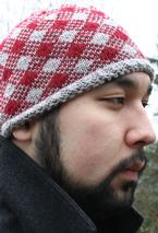 Checkered Hat  Pattern