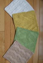 #2 Really Reversible Dishcloths Set of 4 Pattern