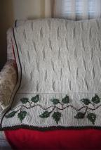 Birch Throw Pattern