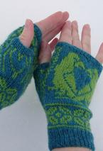 Popinjays Mitts Pattern