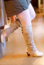 Holey Smokes! Leg Warmers Pattern