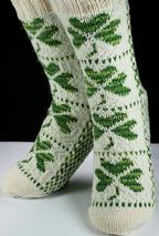 Shamrock Socks Pattern