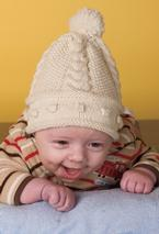 Hugs and Kisses Baby Hat Pattern
