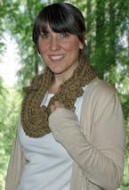 Golden Gate Necklace Crochet Scarf  Pattern