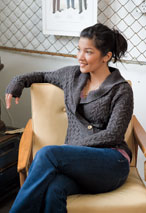 Sand Tracks Cardigan  Pattern