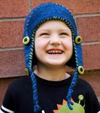 Toasty Bean Earflap Hat Pattern
