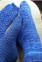 Blue Day Socks Pattern