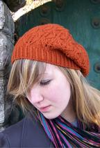 Falling Leaves Beret/Slouch Hat Pattern
