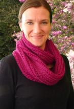Raspberry Soda Crochet Cowl Pattern