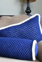 Brava Blackberry Pillow Set Pattern